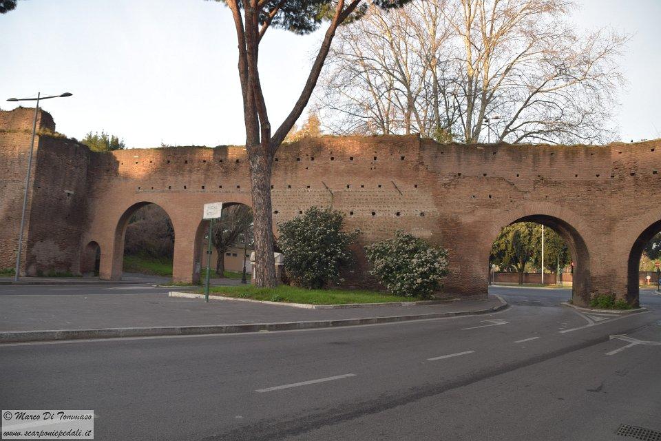 2017 02 11 il periplo delle mura aureliane - Via di porta ardeatina ...